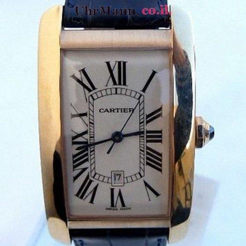 שעון יד Cartier Tank Americaine