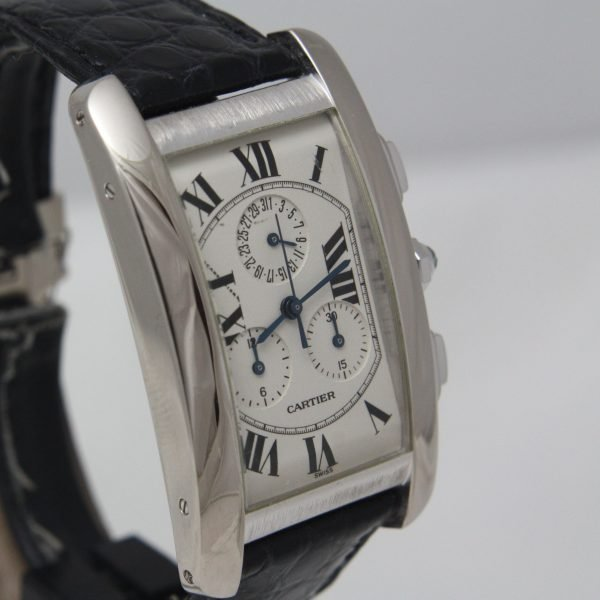 שעון יד Cartier Tank Americaine Chronoreflex