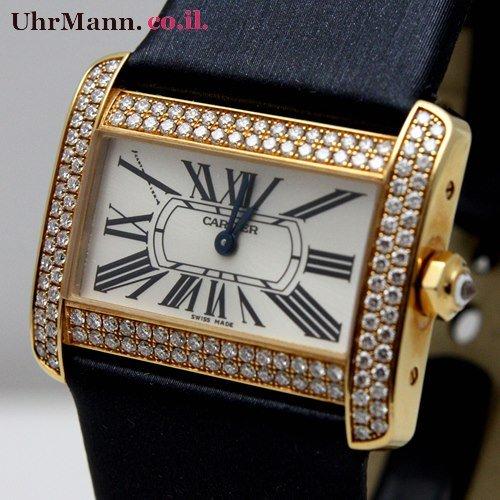 שעון יד Cartier Tank Divan