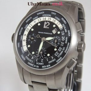 שעון יד Girard-Perregaux World Time Chronograph