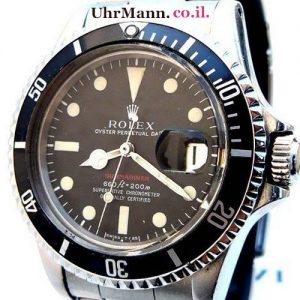 שעון יד Rolex Submariner ref.1680.Red printing