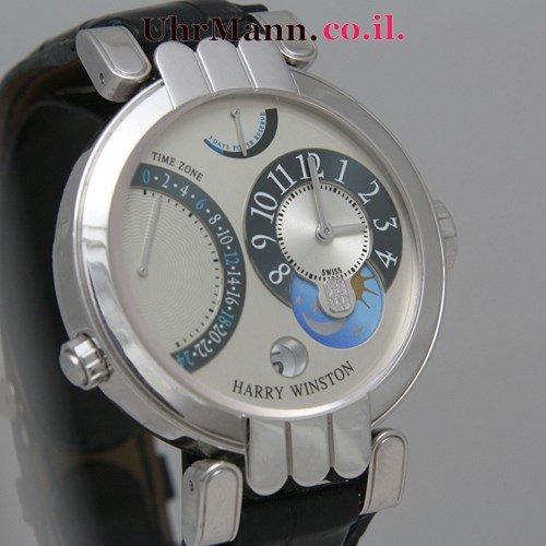 שעון יד Harry Winston Excenter Timezone