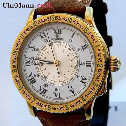 שעון יד Longines Lindbergh Hour Angle